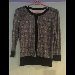 Size small Halogen 3/4 sleeve cardigan